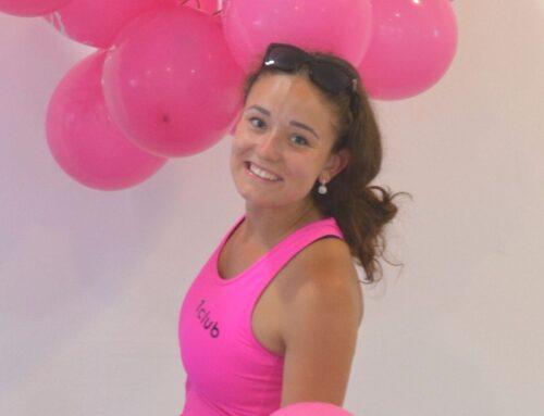 Anička Albrechtová – od kroužku aerobiku k soutěžím a trénování dětí
